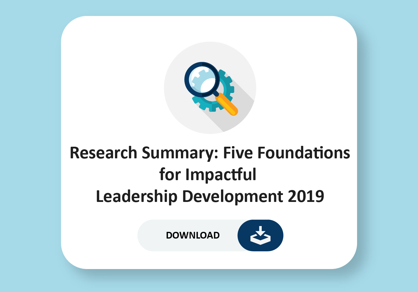 Five foundations for impactful leadership development